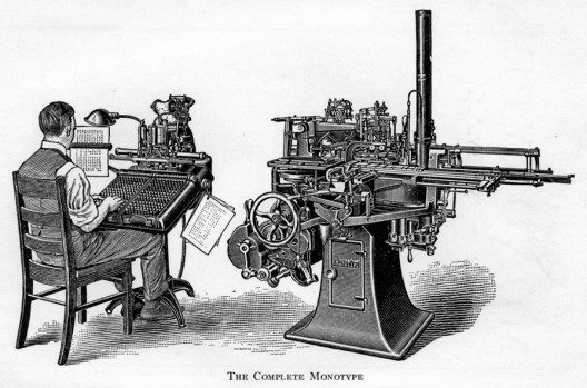 Monotype Composition Caster and Keyboard