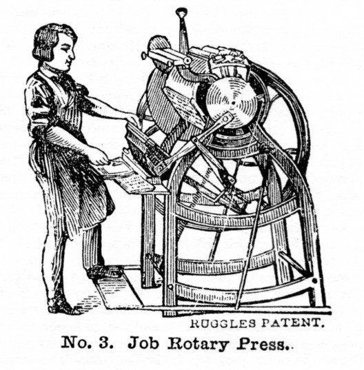 Ruggles Rotary Job Press