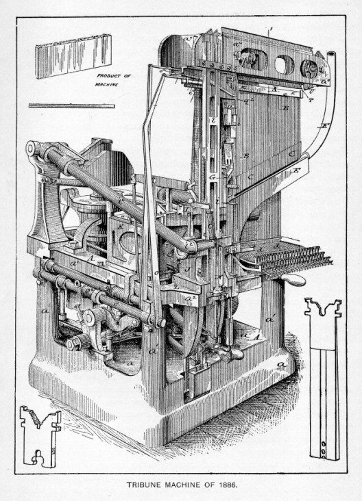 Blower Linotype of 1886