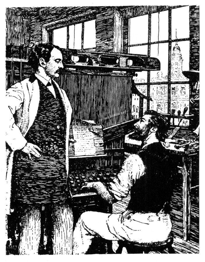 Ottmar Merganthaler and the Linotype - Letterpress Commons