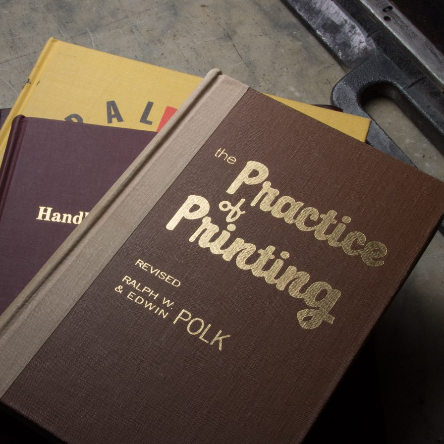 Instructional Books About Printing