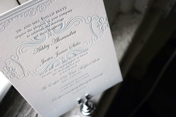 Nantucket wedding invitations - custom - Bella Figura