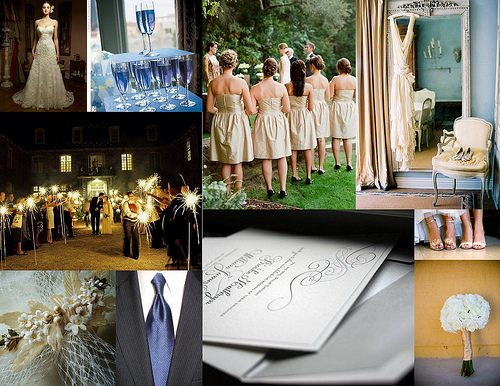 Bella Figura Inspired Wedding Inspiration Board