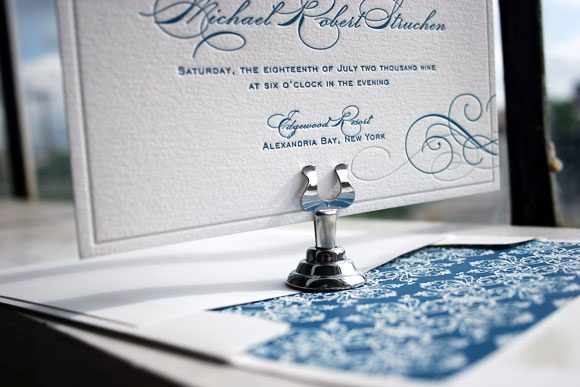 Keswick Letterpress Wedding Invitations