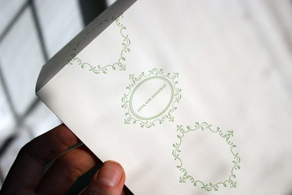 Cartoccio Letterpress Envelope