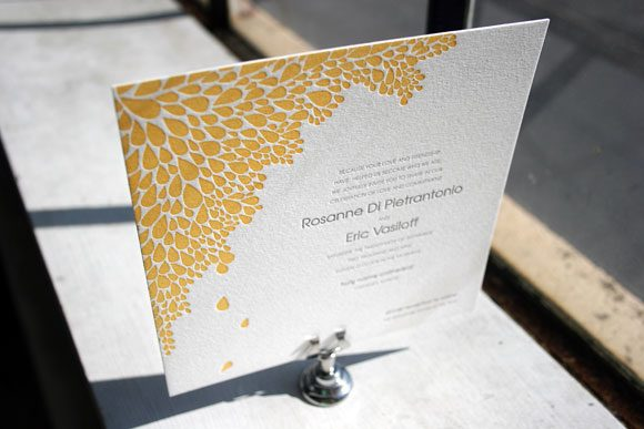 customdew1 custom square dewdrop letterpress wedding invitation bella figura,Wedding Letterpress Invitations