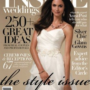 Bella Figura in Inside Weddings Fall 2009