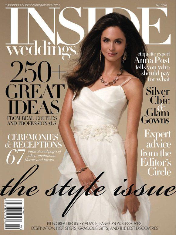 Bella Figura in Inside Weddings Fall 2009