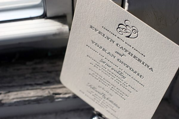 Ashwell Letterpress Wedding Invitations