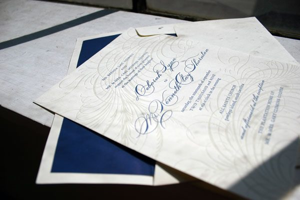 Guild Letterpress Wedding Invitations
