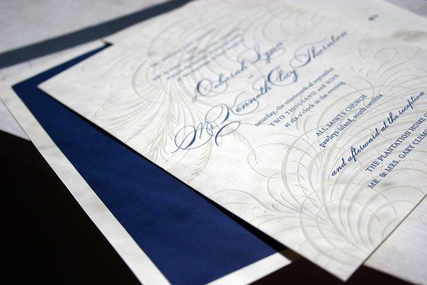 Guild Letterpress Wedding Invitations