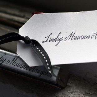 Calligraphy Stamp by Maybelle