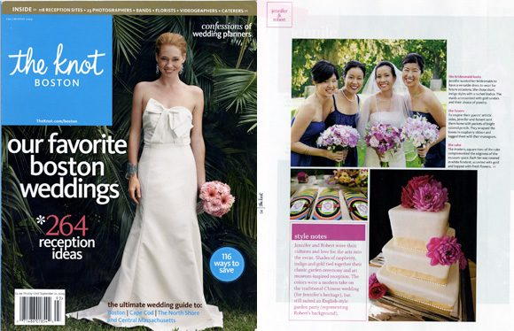 Bella Figura Real Wedding in The Knot