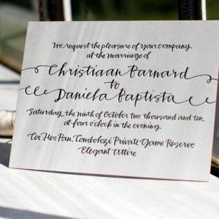 CustomizedCalligraphy_LetterpressWeddingInvitation