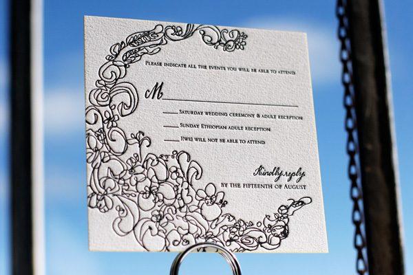Flourish Bella Figura – Modern Classic Wedding Invitations