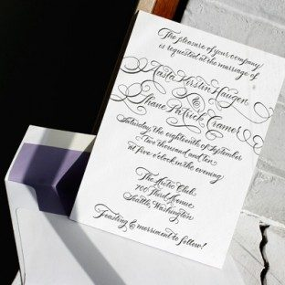 Black&White_Calligraphy_Letterpress_WeddingInvitation