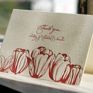 botancials_redtulips_letterpresswedding_thankyoucard