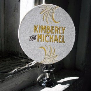 custom-letterpress-coaster-wedding-reception