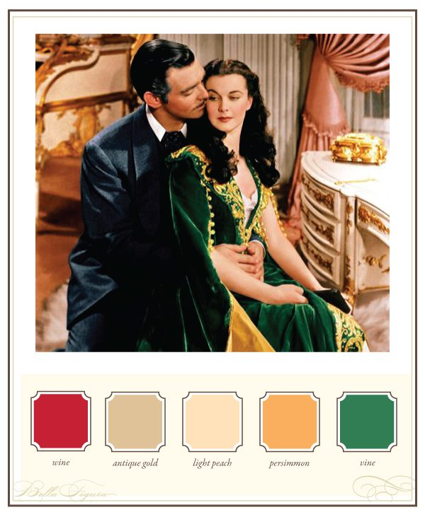 Wedding Inspiration from the Movies - Gone with the Wind - Bella Figura