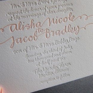 Shell String Calligraphy