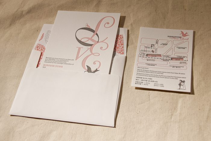 Design Contest Winner Love In Translation By The Wedding Company