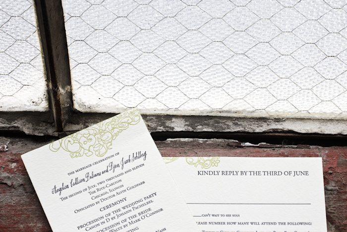 Pressd letterpress wedding invitation ideas from bella figura calligraphy letterpress wedding invitations category stopboris Gallery