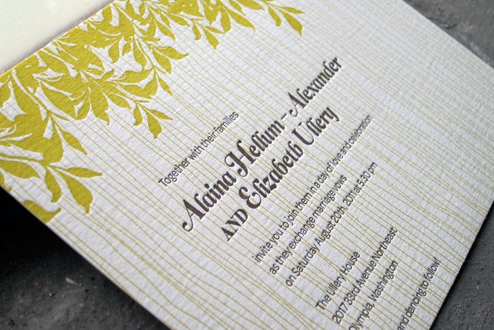 Bella Figura Canopy Invitations