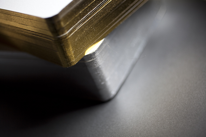 Gold and silver foil edging will be available as part of Bella Figura's new collection