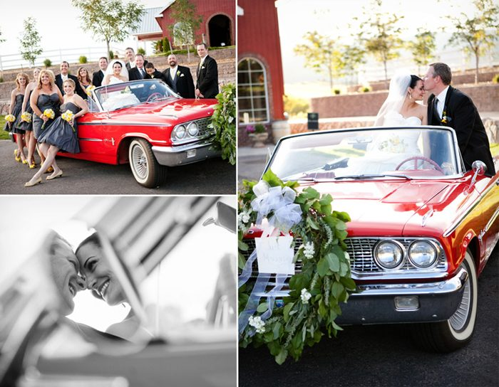 Jennifer & John Stark's September wedding -- a Bella Figura real wedding
