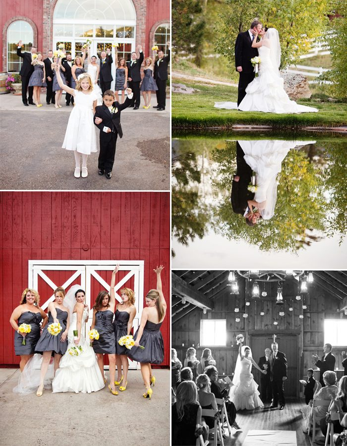 Jennifer and John Stark's autumn wedding