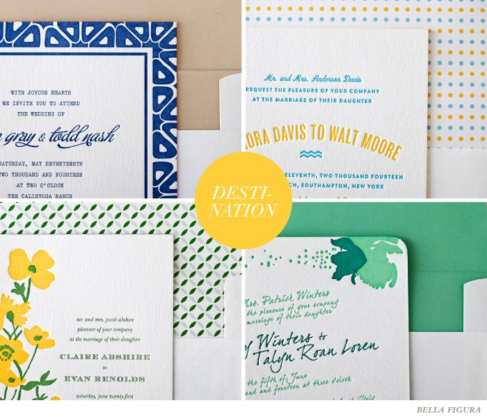 destination wedding font inspiration