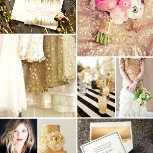 wedding-trends-metallic-gold