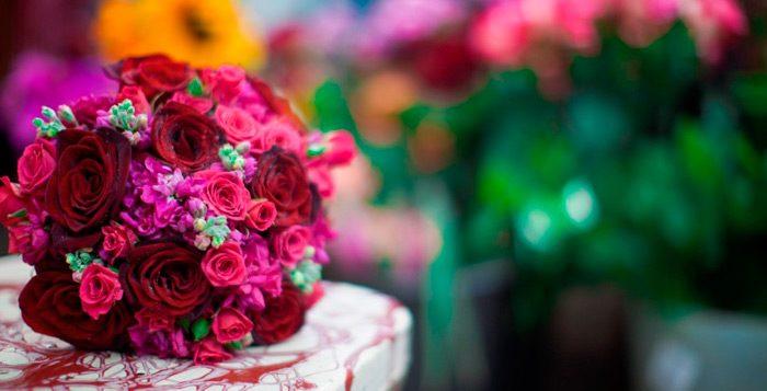 A bouquet from Gardenia Organic