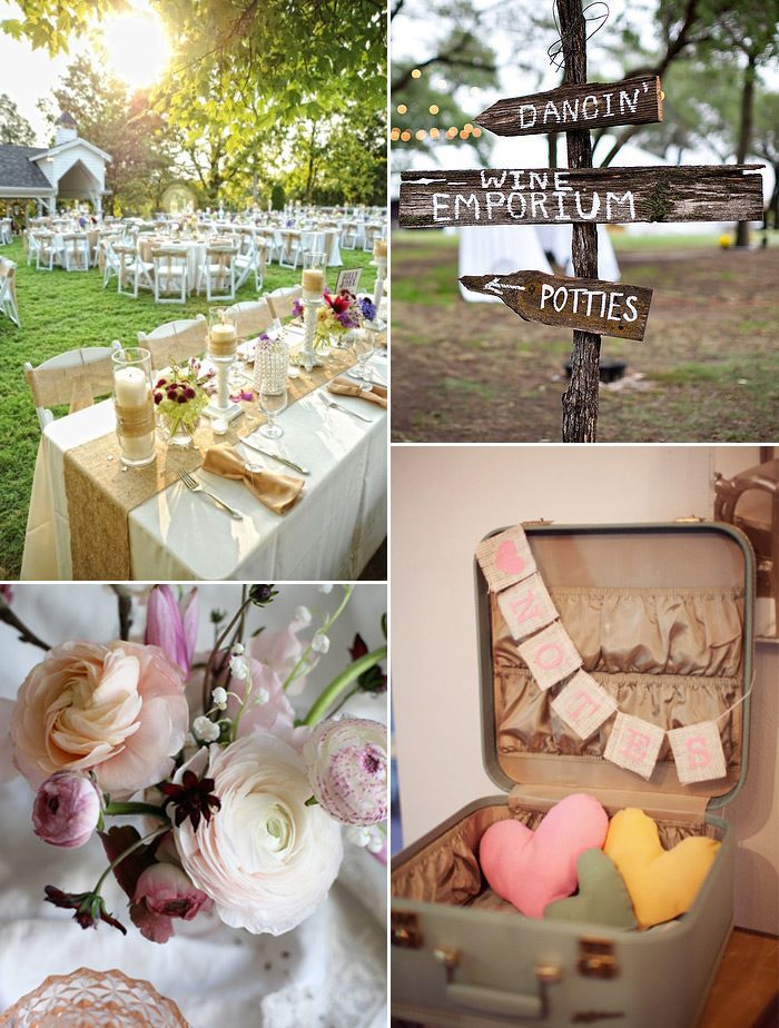 Rustic, personalized weddings are a trend that Racheal loves and predicts will continue to flourish!