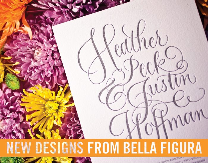 9 new designs from Bella Figura have arrived!