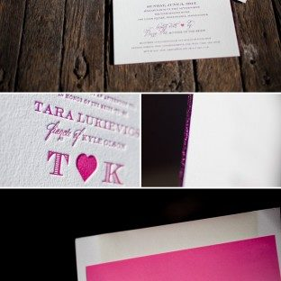Bridal shower invitations bella figura custom letterpress foil stamped bridal shower invitations filmwisefo Gallery