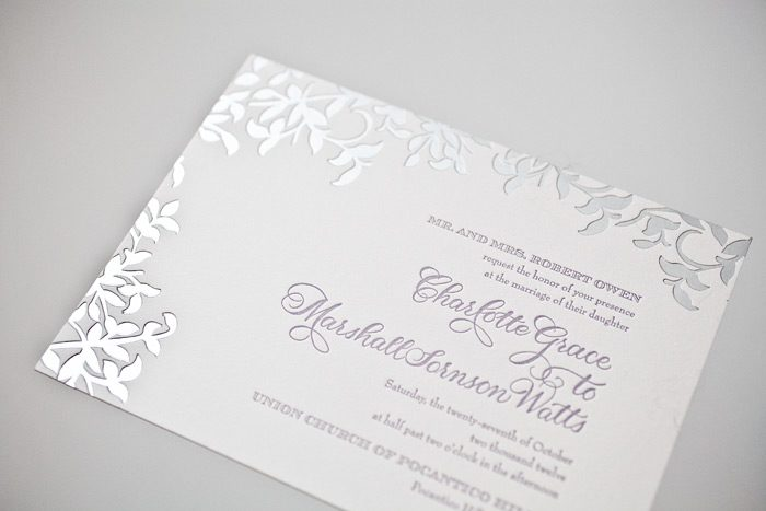 press'd  letterpress wedding invitation ideas from bella figura, Wedding invitations