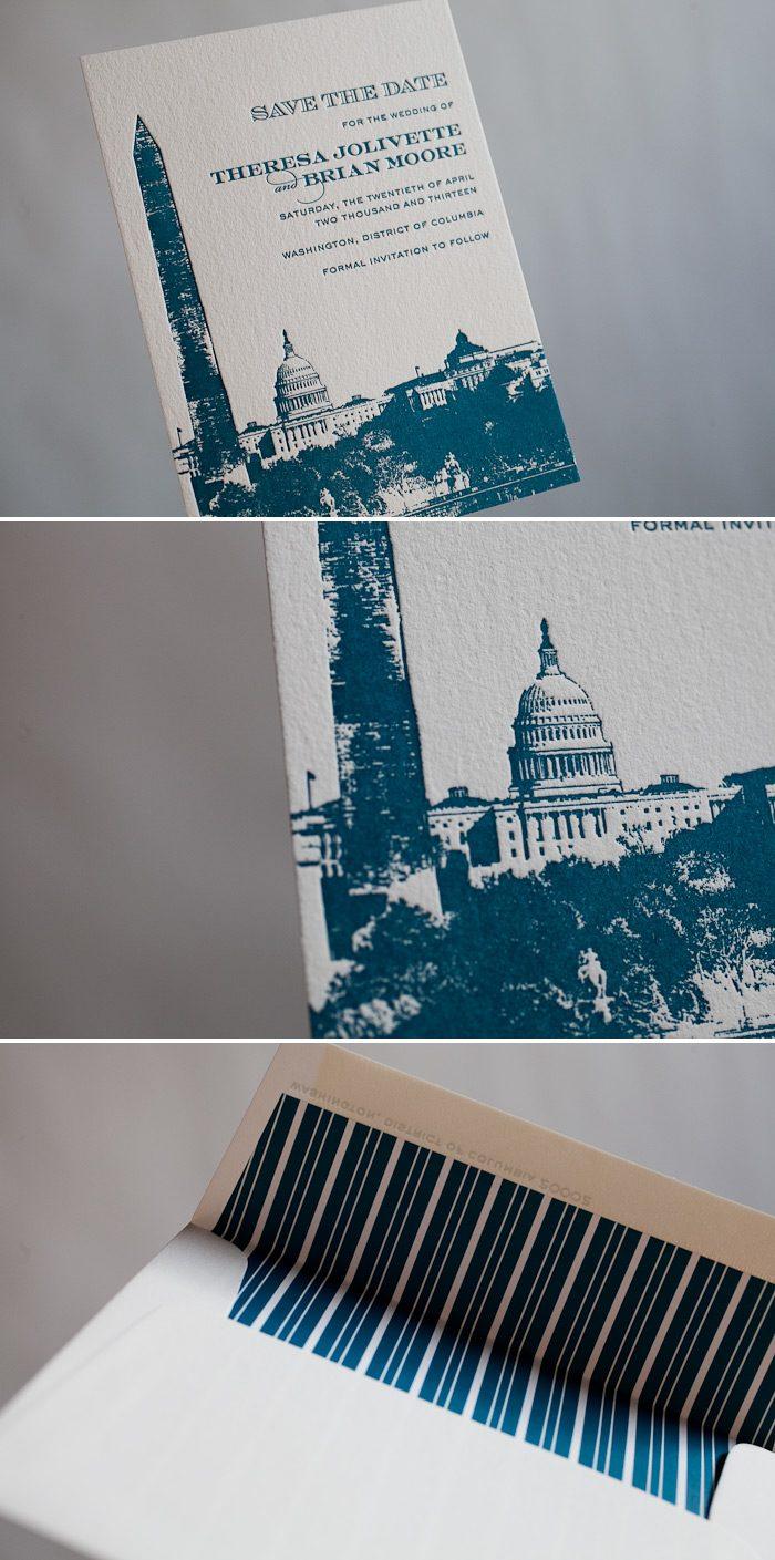 Washington DC save the dates