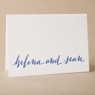 Mitty Calligraphy Stationery