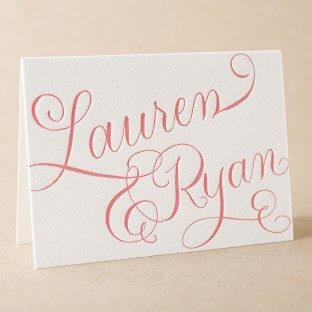 New Calligraphy Stationery