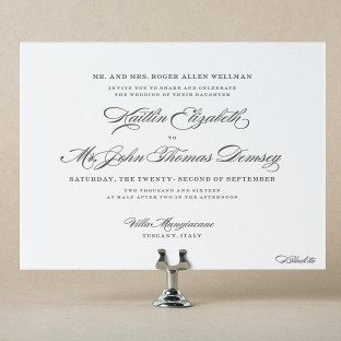 Shop over 300 foil letterpress wedding invitations from bella figura wedding invitations stopboris Image collections