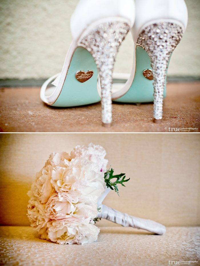Glamorous wedding details captured by True Photography Weddings