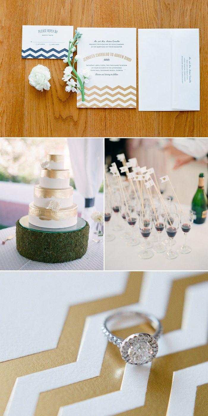 Vintage Beach Wedding Invitations By Bella Figura