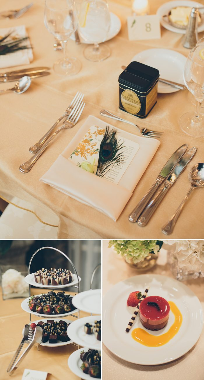 Bella Figura's Vendage design was the perfect choice for this exotic destination wedding