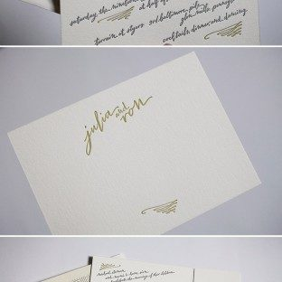Gracieux hand calligraphy by Bella Figura