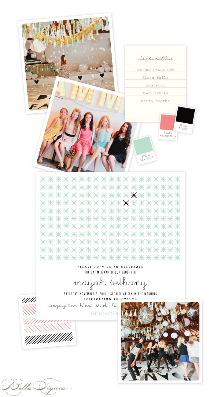 Bright Bat Mitzvah Inspiration