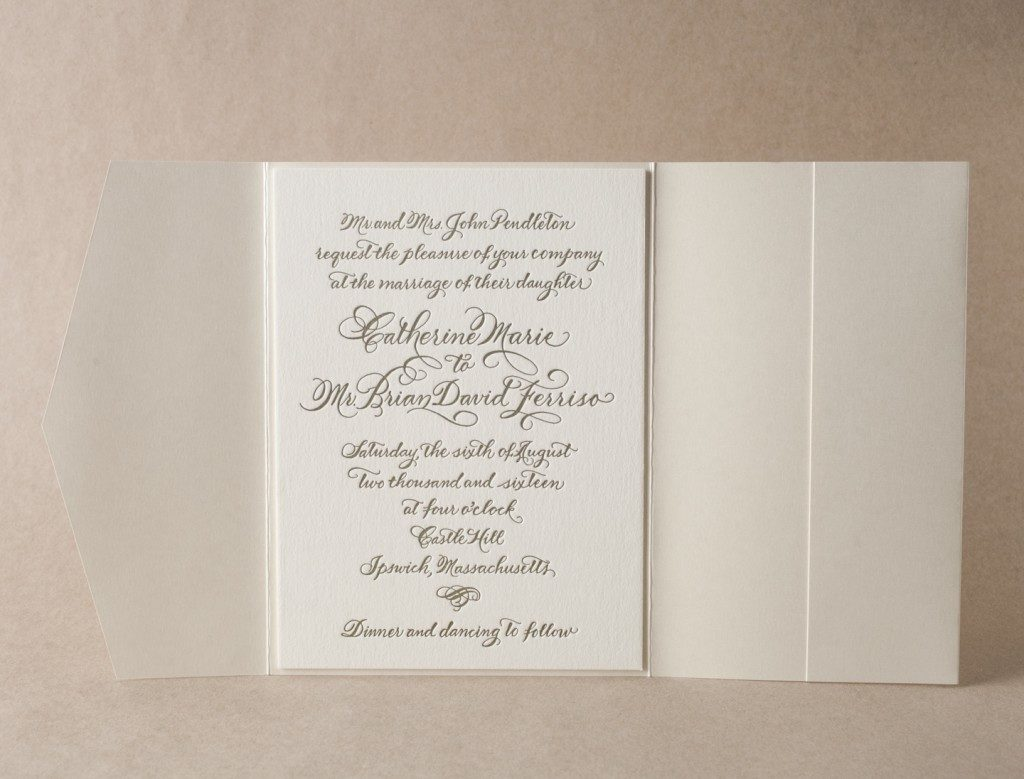 Luxurious Cotton Invitation Paper Envelopes From Bella Figura