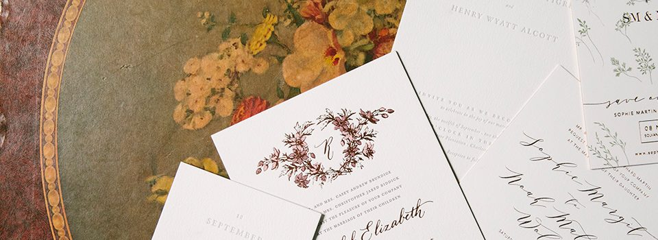 Bella Figura wedding invitations