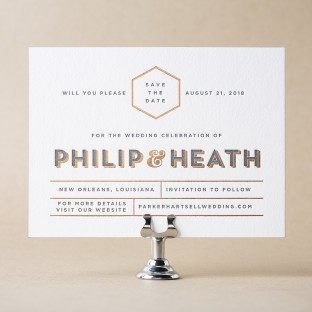 Heathcliff Save the Date design