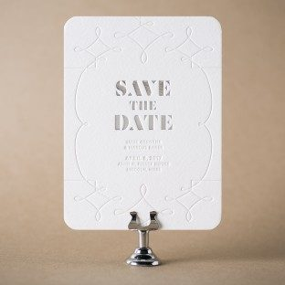 Luise save the dates from Bella Figura